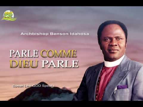 Download PARLE COMME DIEU PARLE - ARCHBISHOP BENSON IDAHOSA