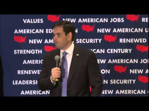 Hillary Clinton And Barack Obama Have Made Us Weaker Vs. North Korea   Marco Rubio for President
