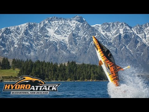 Hydro Attack Queenstown Semi Submersible Shark Ride Video