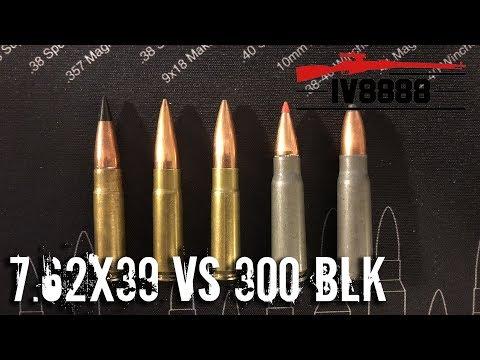 Firearms Facts: 7.62x39mm vs 300 Blackout