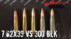 Firearms Facts: 7.62x39mm vs 300 Blackout