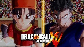 Dragon Ball Xenoverse - Pan Vs SSJ2 Gohan Gameplay (PS4) [1080p HD]