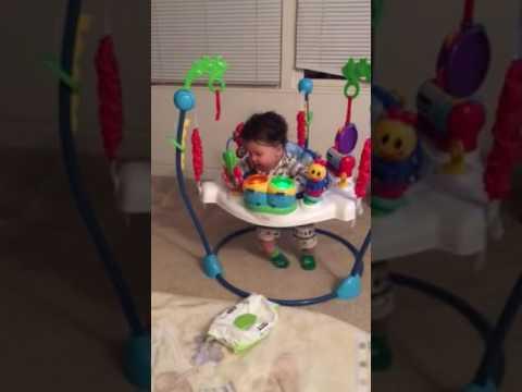 2335ab88e Baby Einstein jumper - YouTube