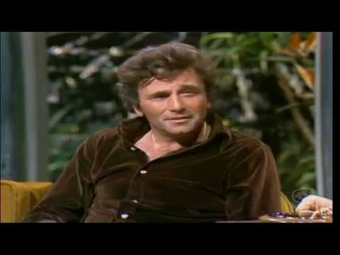 "Peter Falk on Johnny Carson Talks ""Any Old Port in the Storm"" 10-5-73 (16:9 Aspect Ratio)"