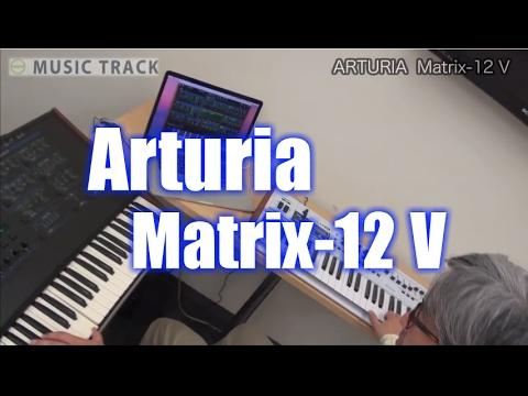 ARTURIA  Matrix-12 V Demo & Review [English Captions]