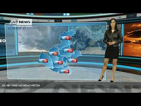 22/08/2019 | A3 NEWS METEOA3 NEWS Venezia ...