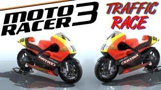 Moto Racer 3 Traffic Race Gameplay PC HD