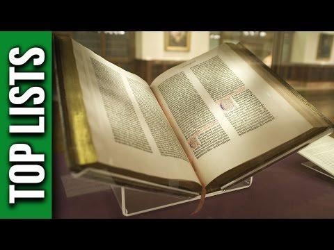 Top 10 Rarest Books