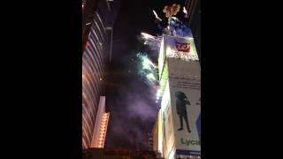 NYE 2013/14 Ball Drop, Ruby Tuesdays, Time Square, NYC