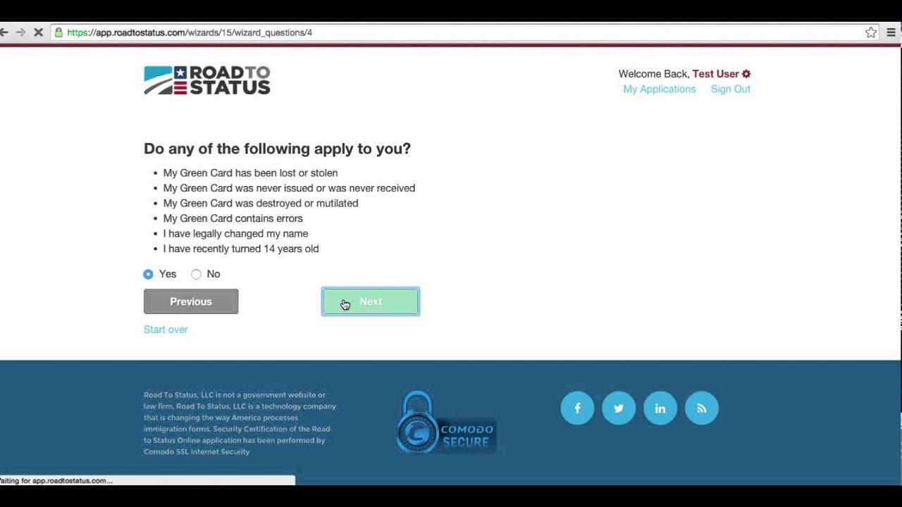 Uscis Green Card Renewal Form I 90 | Infocard.co