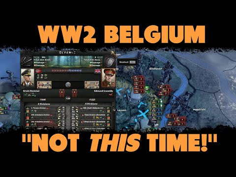 Not Dying As Belgium Part 3 | The Means of Destruction | Hearts of Iron IV Abridged Commentary