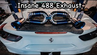 Ferrari 488 Titanium Exhaust  *LOUDEST EVER ?*