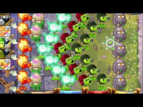 Peashooters Battlez Plants vs Zombies 2 Strategy - How to Win Battle with All Peashooters