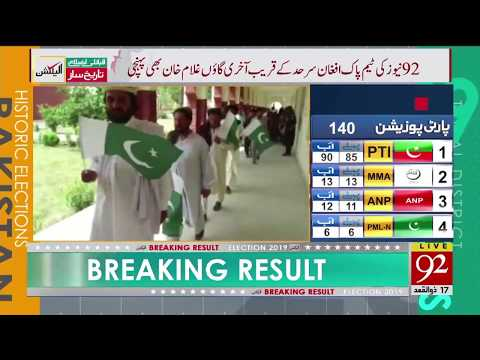 92 News News' Exclusive Coverage Of Ex-FATA Election 2019   21 July 2019   92NewsHD