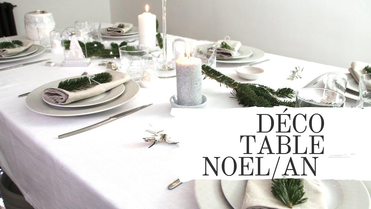 deco table de noel et du nouvel an diy youtube. Black Bedroom Furniture Sets. Home Design Ideas