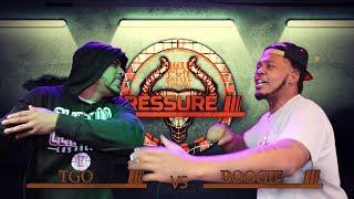 BOOGIE vs TGO hosted by John John Da Don   BullPen Battle League