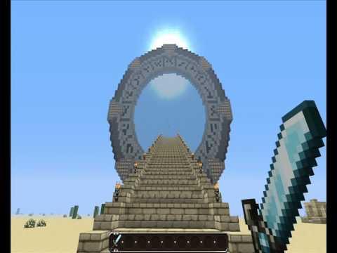Minecraft construction de la porte des toiles youtube for Porte and minecraft