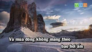 Bản Tình Ca Mùa Đông - Minh Quân Karaoke Beat