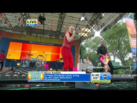 No Doubt - Underneath It All [Good Morning America 27 July 2012] HD 720p