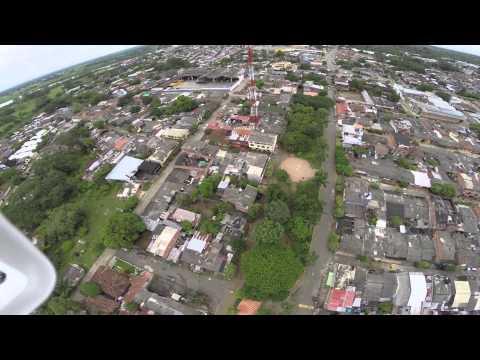 Caucasia Antioquia vista desde un Drone  phantom