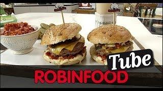 "Robinfood / Hamburguesa ""madison Square Park"""
