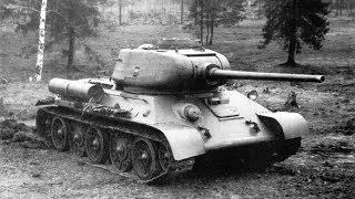 Танк Т-34 - лучший танк Второй Мировой Войны.