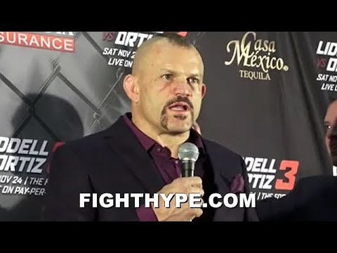 CHUCK LIDDELL BRUTALLY HONEST ON KNOCKOUT LOSS TO TITO ORTIZ, RIVALRY, AND FUTURE PLANS