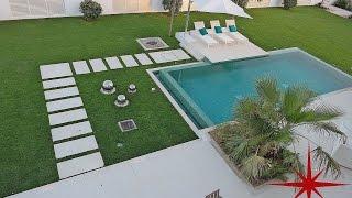حصري الحديثة المعاصرة 4 حمام داخلي BR فيلا مع مسبح خاص و حديقة