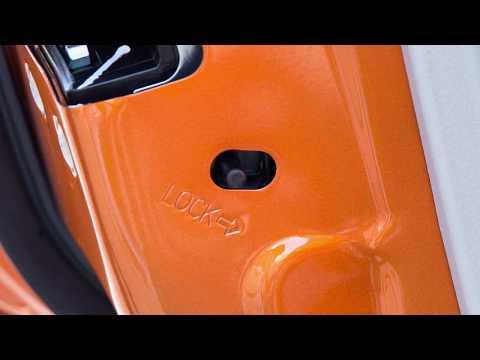 2017 Nissan Rogue Sport - Child Safety Rear Door Locks