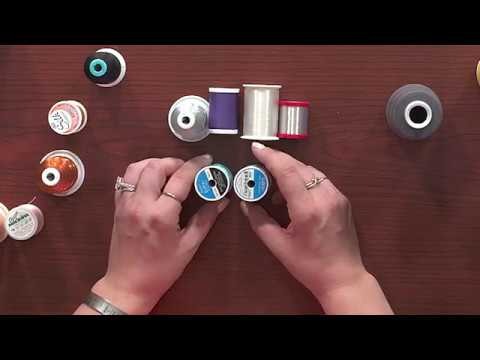 Different Types of Thread for Sewing