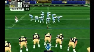 NFL 2K3/ SAINTS VS COWBOYS [PS2] [HD]