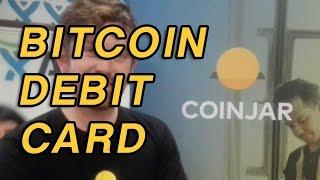 CoinJar Swipe - Australia's first EFTPOS debit card for Bitcoin