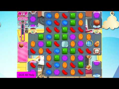 Candy Crush Saga Level 2366 NO BOOSTERS Cookie