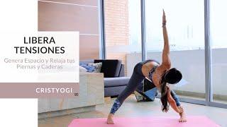 Libera Tensiones: Genera espacio y relaja tus piernas y caderas