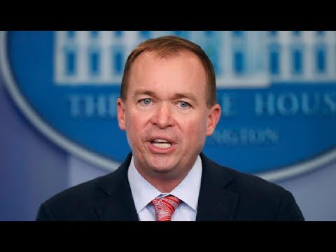Download Youtube: BREAKING: Mick Mulvaney SLAMS Democrats on the Government Shutdown at Update Press Briefing