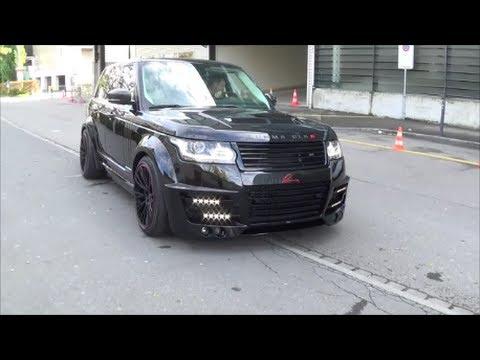 Lumma Clr R Range Rover Youtube
