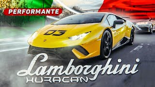 Тест Lambo Huracan Performante в Москве! D3?