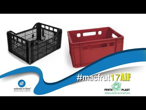 Contenitori riciclabili per ortofrutta - PENTA PLAST