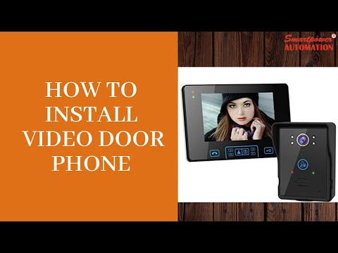 hqdefault how to install video door phone youtube Foot Anatomy Diagram at eliteediting.co