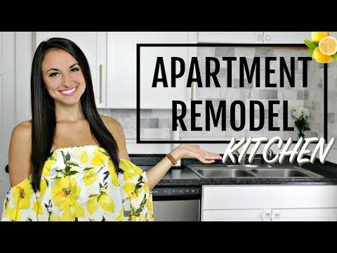 Apartment Remodel: KITCHEN TOUR