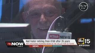 Ned Foster retiring from KTAR after 26 years
