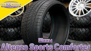 Обзор летних шин Altenzo Sports Comforter Asymetrical
