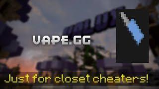 VAPE.5 GG, Optifine Cape Tasarım #