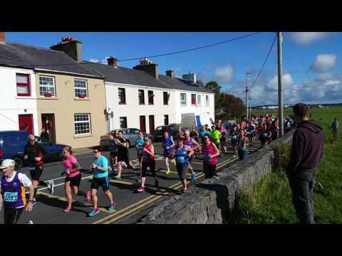 Galway Bay Half Marathon start