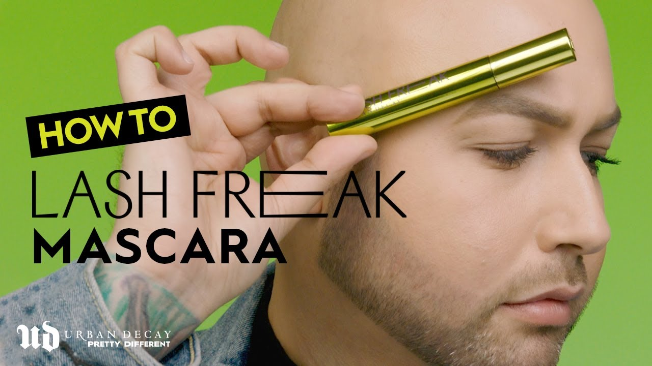 How to Use Lash Freak Mascara   Urban Decay Cosmetics