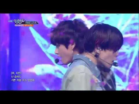 [뮤직뱅크 1위곡]  BTS(방탄소년단) FAKE LOVE