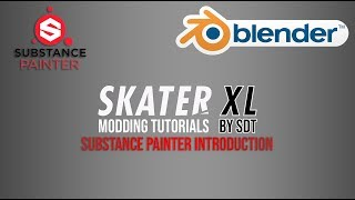 SkaterXL Mapping Tutorials | Substance Painter Introduction