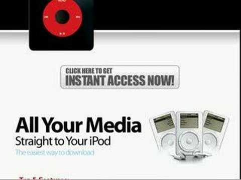 Unlimited iPod Downloads
