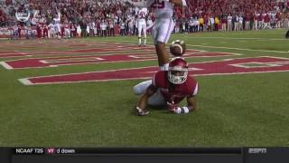 Minkah Fitzpatrick vs Arkansas (2016)