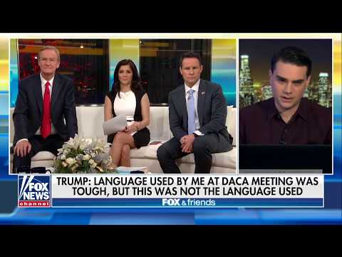 Shapiro: Trump Should Have Denied 'S**thole' Remark When It Was First Reported